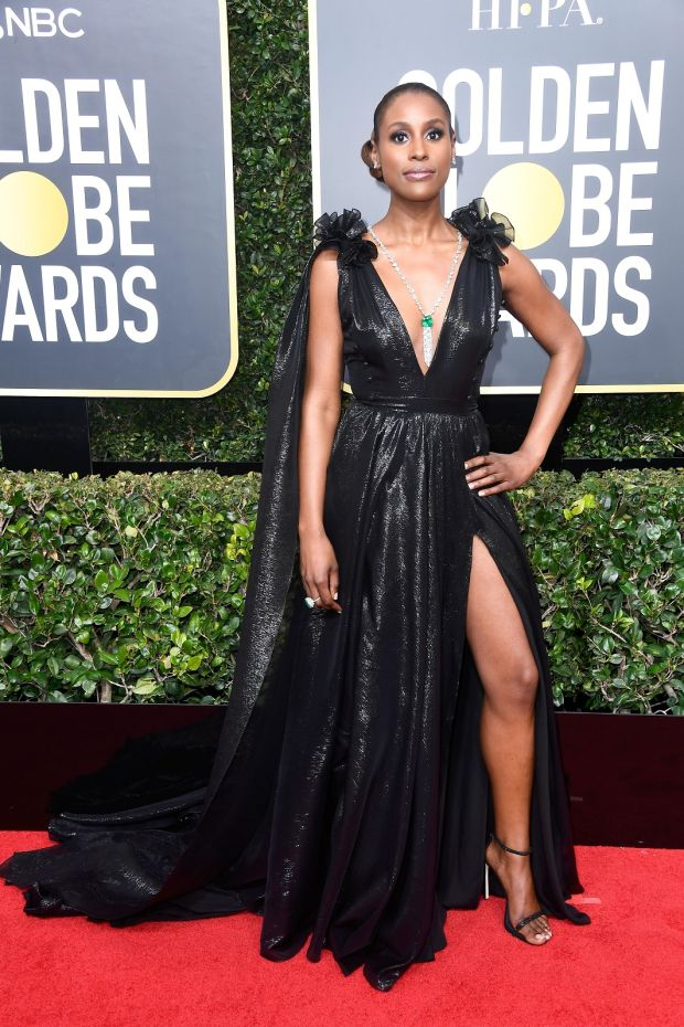 Issa Rae at the 75th Annual Golden Globe Awards. Photograph: Frederick M Brown/Getty Images