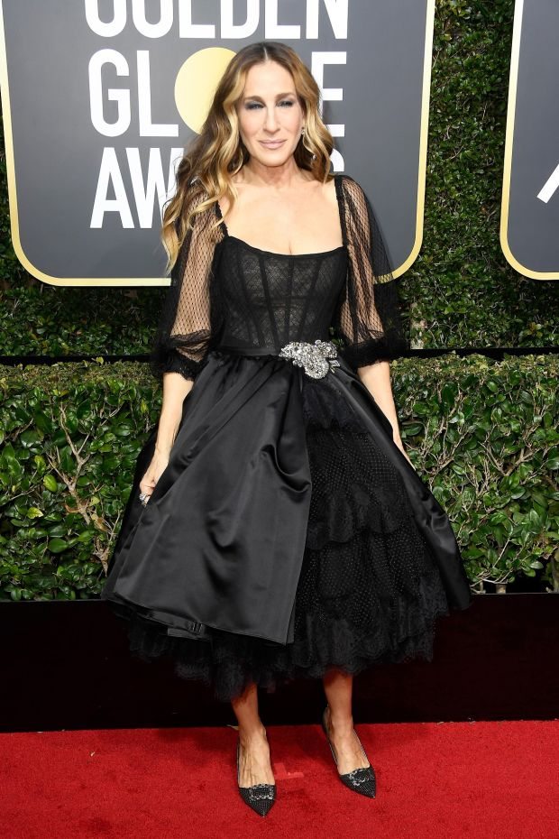 Sarah Jessica Parker at the 75th Annual Golden Globe Awards. Photograph: Frederick M Brown/Getty Images