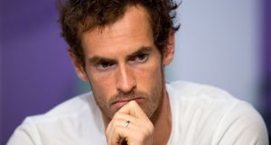 Andy Murray has underwent hip surgery in Australia. Photograph: PA