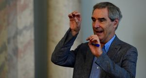 "Michael Ignatieff:  his latest book finds that ordinary people are largely unmoved by the ""elite discourse"" of human rights and international law. Photograph:   Attila Kisbenedek/AFP/Getty Images"