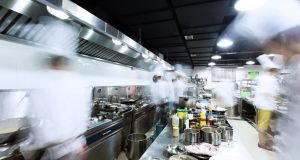 Kitchens can be high-pressure, stressful environments in which to work. Photograph: Getty Images