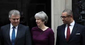 Britain's prime minister Theresa May: accused of weakness in her failure to move or sack more ministers. Photograph: Reuters/Simon Dawson