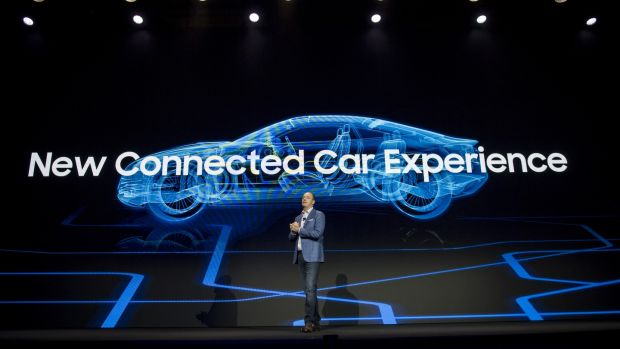 Samsung Unveils Driverless Car Parts Infotainment Platform