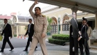 Thai PM directs journalists' questions to cardboard cut-out of himself