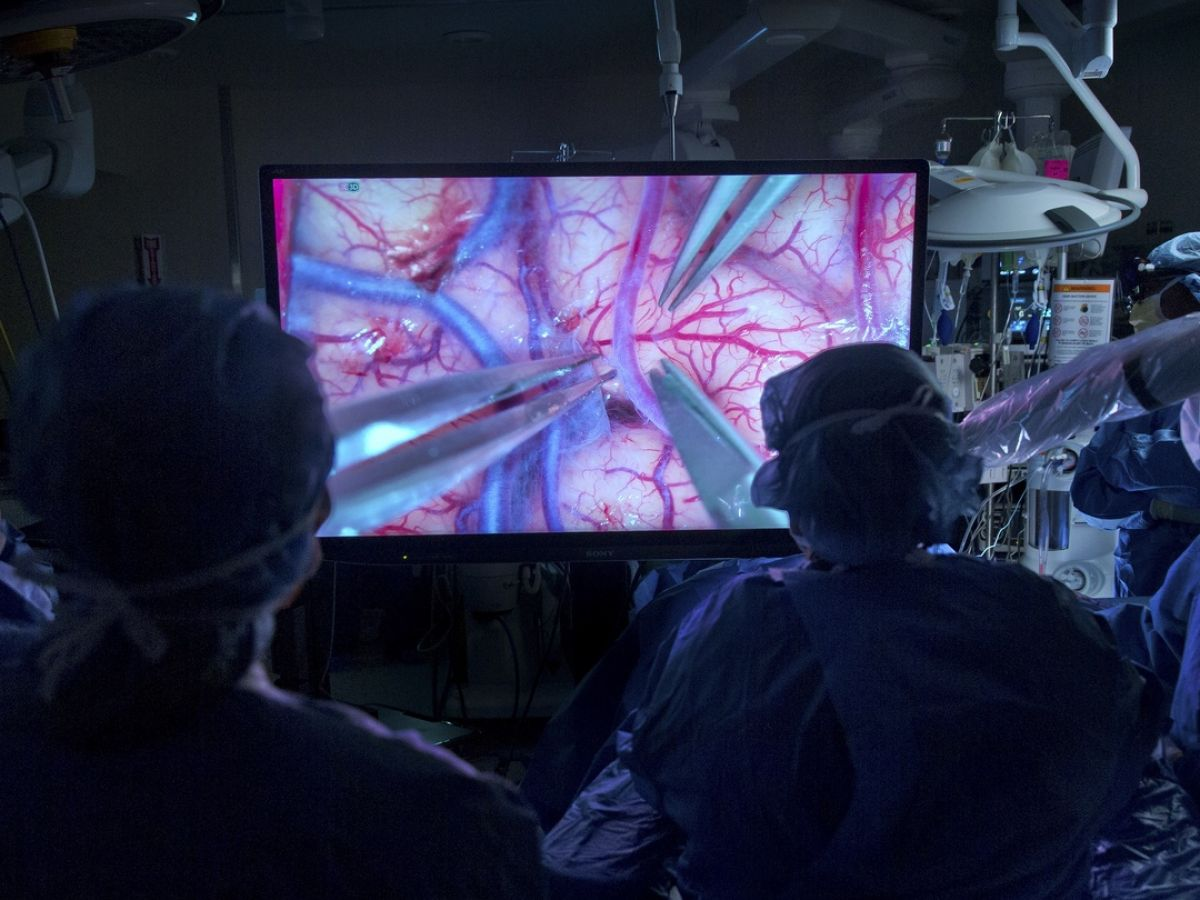 3D brain surgery: 'this is like landing on the moon'