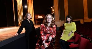 'Irish Times' Irish Theatre Awards: judges Catriona Crowe, Ella Daly and Paula Shields. Photograph: Dara Mac Dónaill