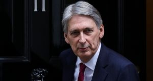 Britain's chancellor of the exchequer Philip Hammond: said the EU should also outline what kind of relationship it wants with Britain after Brexit. 'It takes two to tango.' Photograph: Luke MacGregor/Bloomberg