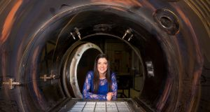 Dr Norah Patten: her ultimate dream is to visit the International Space Station.   Photograph: Sean Curtin