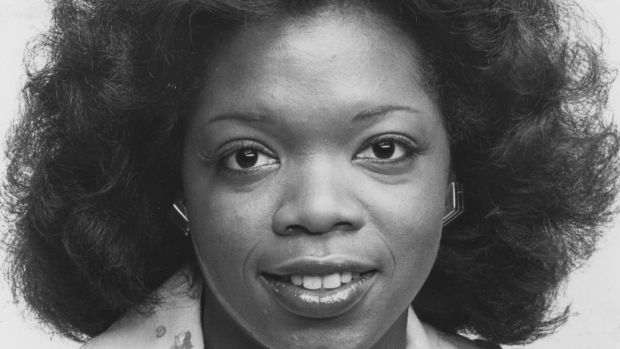 A portrait of Oprah Winfrey upon becoming co-anchor of Eyewitness News in Baltimore, Maryland, 1978. Photograph: Afro American Newspapers/Gado/Getty Images