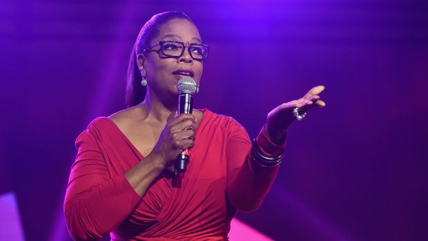 Oprah Winfrey onstage during the 2016 Essence Festival in New Orleans, Louisiana. Photograph: Paras Griffin/Getty Images for 2016 Essence Festival