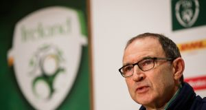 Martin O'Neill has left his post as Ireland manager to take over at Stoke City. Photo: Inpho