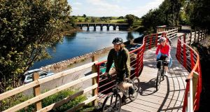 Mayo's 42km Great Western Greenway runs from Westport to Achill and is used by 250,000 people every year