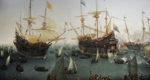 The Return to Amsterdam of the Second Expedition to the East Indies, by Hendrik Cornelisz Vroom (1566-1640). Over the years, the Dutch built the most commercially successful economy in the world. Photograph: Phas/UIG via Getty Images