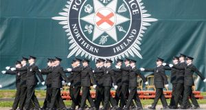 Less than a third of current PSNI officers are from a Catholic background. Photograph: Stephen Davison/Pacemaker