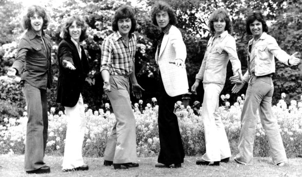 Miami Showband: Stephen Travers, Tony Geraghty, Ray Millar, Brian McCoy, Fran O'Toole and Des McAlea; O'Toole, Geraghty and McCoy were killed in 1975