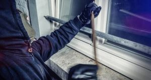 An average of just over 1,500 burglaries were recorded each month in 2017, with a total of nearly 18,500 for the full year. Photograph: Getty Images