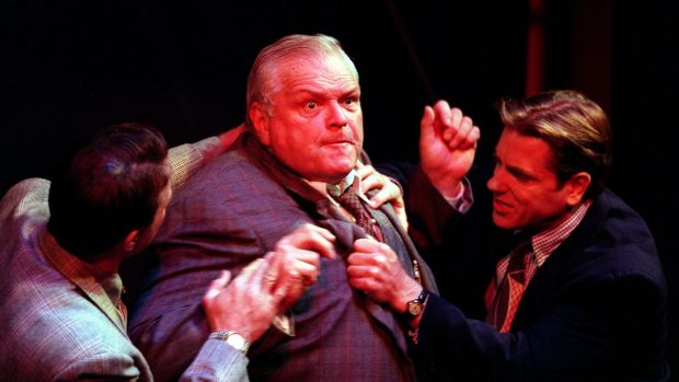 Brian Dennehy as Willy Loman in Arthur Miller's Death of a Salesman. Photograph: Con Keyes/Los Angeles Times via Getty Images