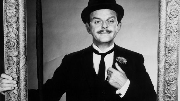 David Tomlinson as Mr Banks in Mary Poppins. Photograph: Hulton Archive/Getty Images