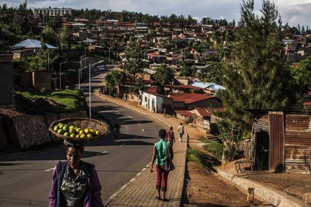 Kigali, the capital of Rwanda, which has emerged as one of Africa's friendliest tourist destinations. Photograph: New York Times
