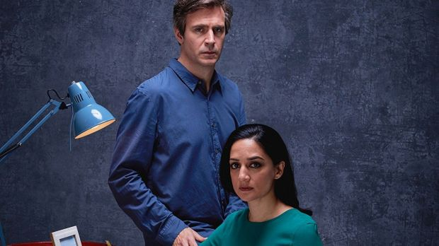 Jack Davenport and Archie Panjabi in Next of Kin (2018)