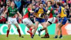 Mark Nally in action for Roscommon in the 2014 Connacht championship. Photograph: Inpho