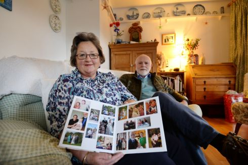 CITIZEN PAIN: Stephanie McCorkell, whose application for citizenship was rejected despite her having lived in Ireland for the last 44 years, with her husband Charles. Photograph: Alan Betson/The Irish Times