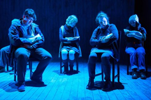 IN PLAY: 'The Events', an award-winning play by David Greig, opens in the CIT Cork School of Music Stack Theatre. Photograph: Michael Mac Sweeney/Provision