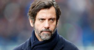 Stoke managerial target Quique Sanchez Flores has said he wants to remain at Espanyol in Catalonia. Photograph: PA
