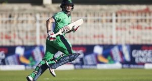 Ireland's captain William Porterfield recorded his 10th ODI century on Saturday against UAE. Photograph: Getty Images