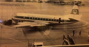The Aer Lingus Viscount which crashed on June 22nd, 1967.