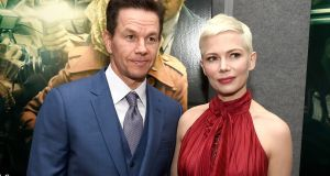 Mark Wahlberg  and Michelle Williams at  the premiere of All The Money In The World at Samuel Goldwyn Theater,  Beverly Hills, last December. Photograph:  Kevin Winter/Getty Images