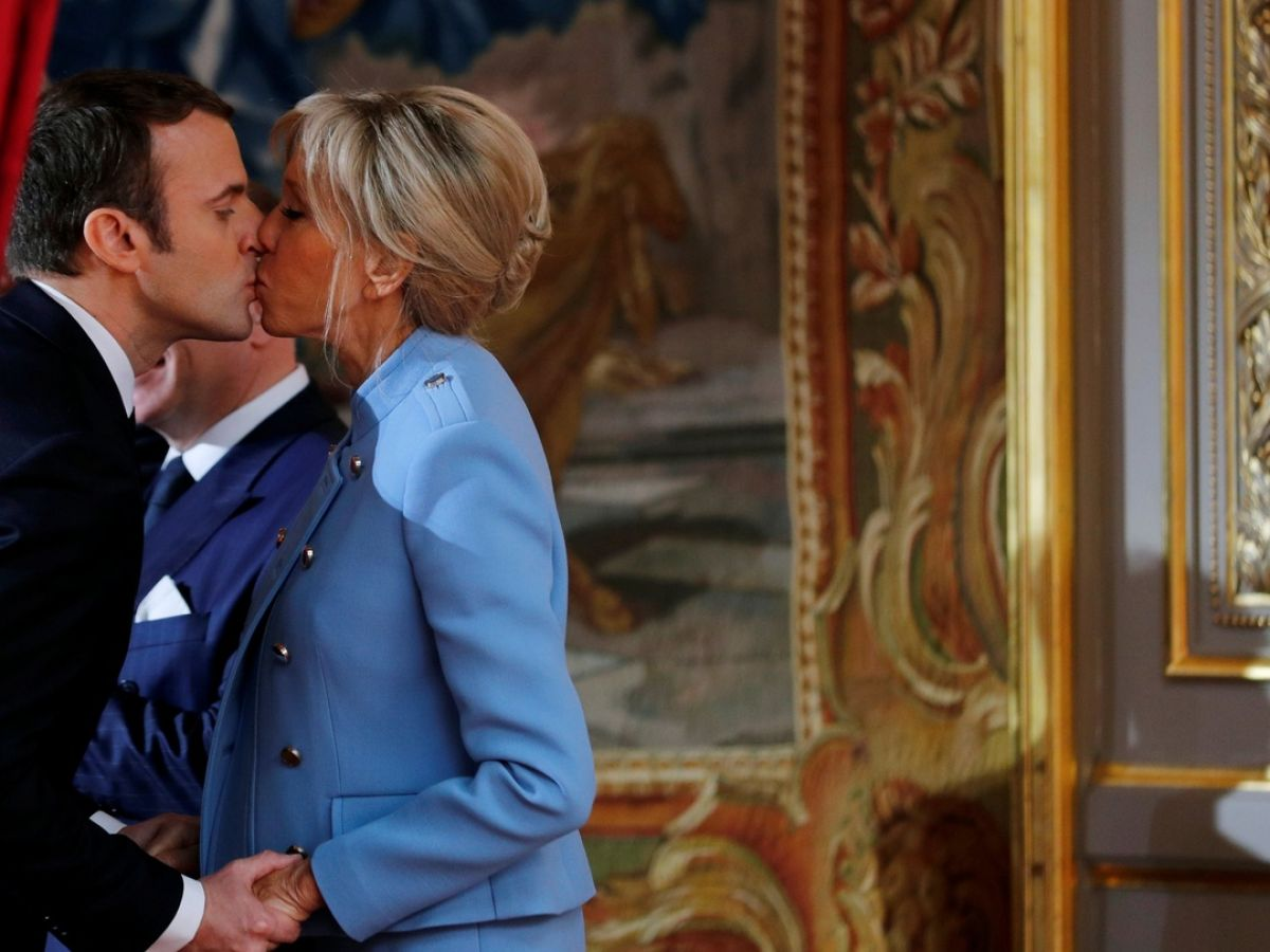 Young Emmanuel Macron Wrote Racy Novel Inspired By Wife Claims New Book