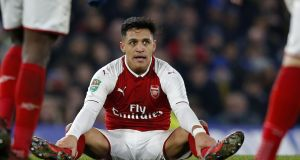Manchester United have indicated a readiness to outbid Manchester City for Alexis Sanchez and to offer him more lucrative personal terms. Photograph: Ian Kington/AFP/Getty Images