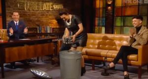 Dublin Cycling Campaign has taken issue with the Late Late Show's 'Bin it' segment from Friday night