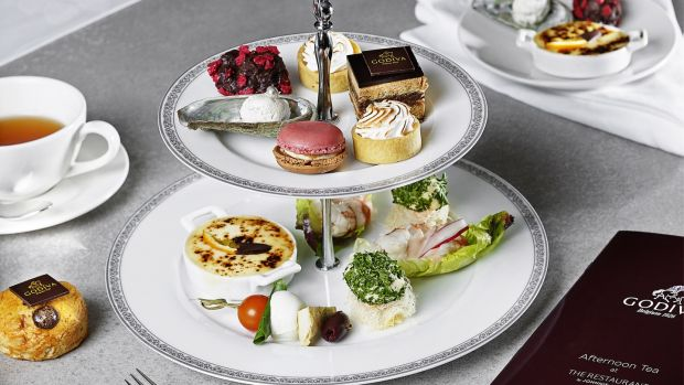 The Godiva chocolate afternoon tea at Brown Thomas