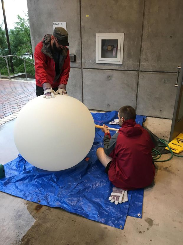 Into the storm: weather balloons rise again
