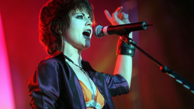 Dolores O'Riordan, lead singer with the group The Cranberries. Photograph: Eric Luke