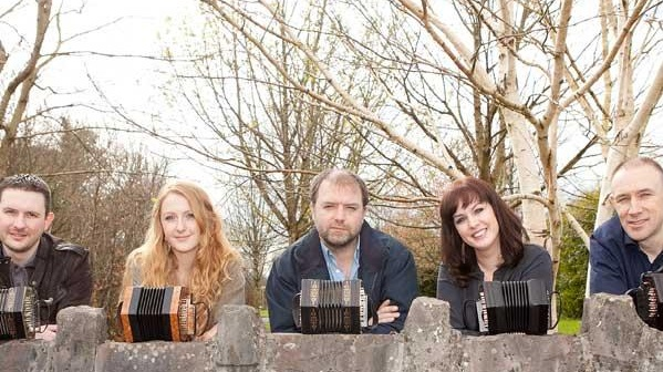 Irish Concertina Ensemble: the five-piece ensemble will explore the melodic and percussive boundaries of the concertina