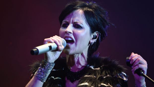 Dolores O'Riordan of The Cranberries performing during the Cognac Blues Passion festival in Cognac in July, 2016. Photograph: AFP/Getty Images