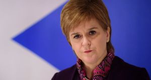 Scottish first minister Nicola Sturgeon: described financial analysis as more detailed than any analysis published by Theresa May's government. Photograph: John Linton/PA Wire