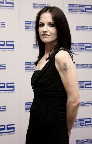 Dolores O'Riordan at the Sony Radio Academy Awards 2007 at the Grosvenor House Hotel, London. Photograph: Yui Mok/PA Wire