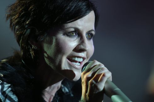 Dolores O'Riordan performs on stage during the 23th edition of the Cognac Blues Passion festival in Cognac, France, in July 2016. Photograph: Guillaume Souvant/AFP/Getty Images