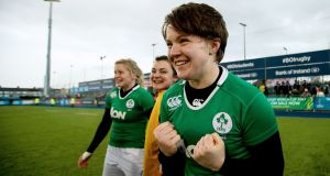 Ciara Griffin has been named as Ireland Women's new captain. Photograph: Tommy Dickson/Inpho