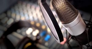 'Minimal' Irish on the radio: Some 'craic', but not much in the way of current affairs, a new report has found. Photograph: iStock