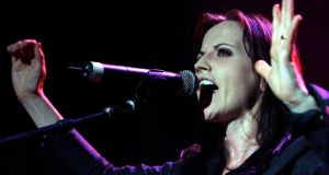 "Dolores O'Riordan's mother and siblings were said to be ""devastated"" at her death. Photograph: EPA"