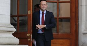 Taoiseach Leo Varadkar:  previously expressed caution about the proposal to legalise abortions up to 12 weeks, suggesting last week that it might be 'a step too far' for many people. Photograph: Niall Carson/PA Wire