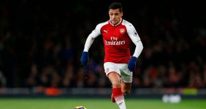 Chelsea are believed to be interested in signing Arsenal forward Alexis Sanchez. Photograph: Ian Kington/AFP/Getty Images