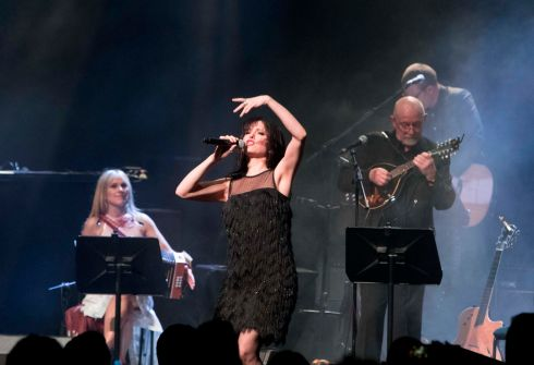 Imelda May: Note-perfect performance of Siesta. Photograph: Tom Honan