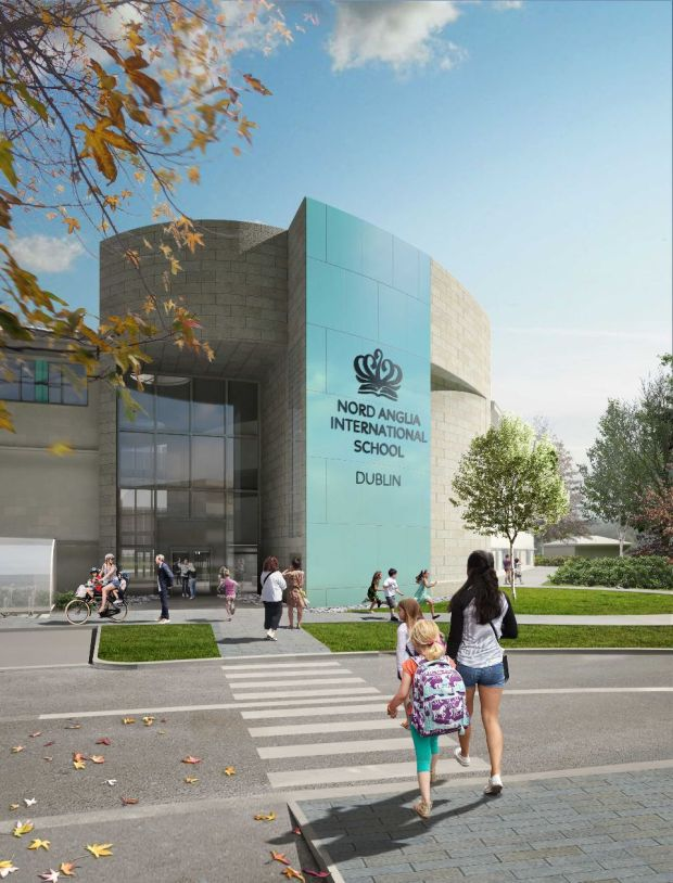 An artist's impression of Nord Anglia International School Dublin