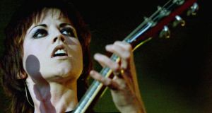 Singer Dolores O'Riordan performs live at Dublin's Castle on April 29th, 2000. Photograph: Ferran Paredes/Reuters